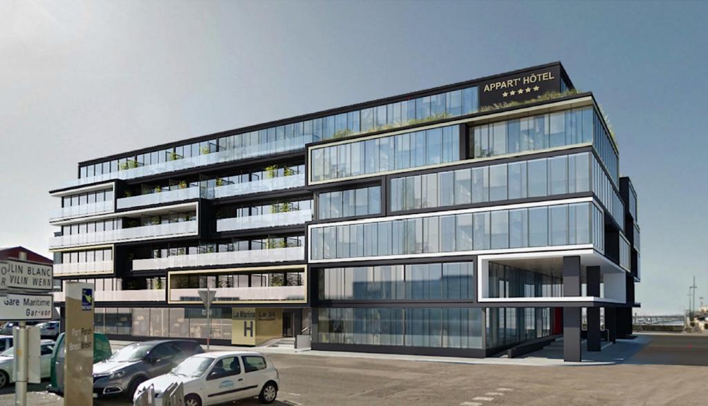 Bureaux Brest 610 m2