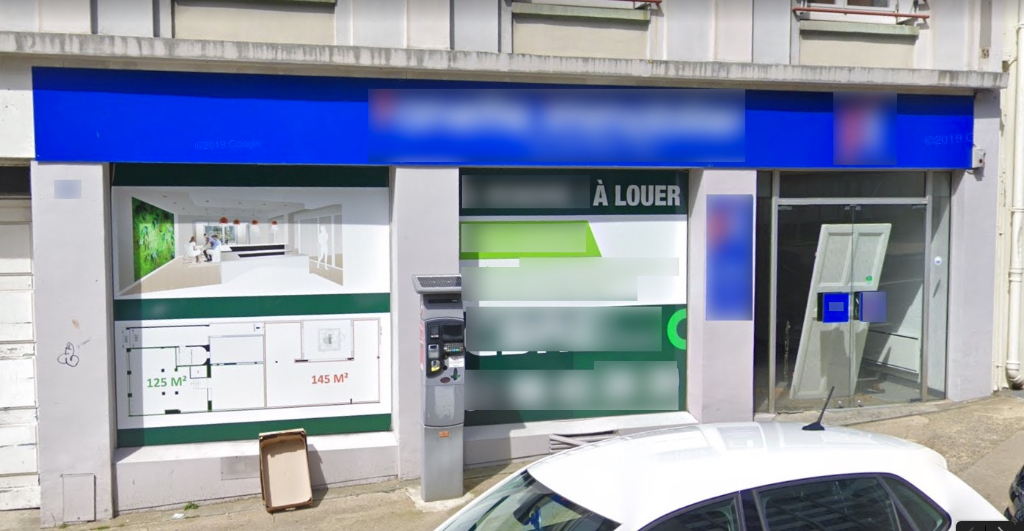 Local commercial 125 m2 Brest