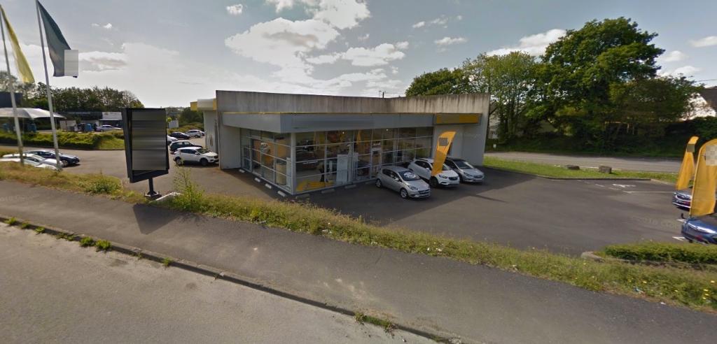 Entrepôt / local industriel Landerneau 488 m2