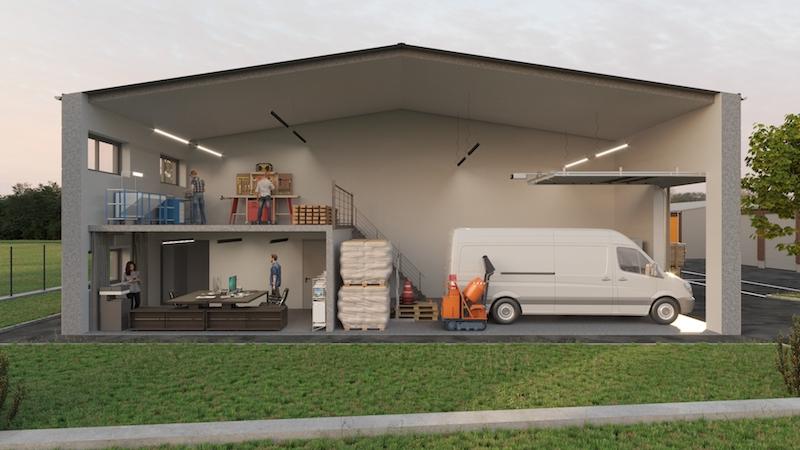 Entrepôt / local industriel Guipavas 140 m2