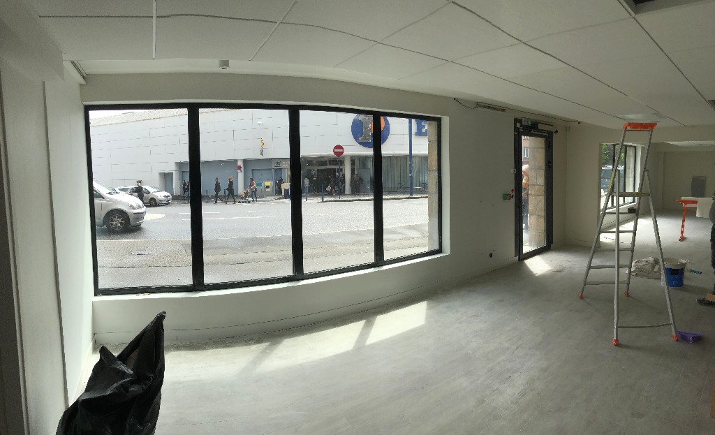 Local commercial Brest 210 m2