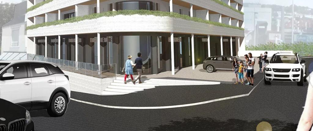 A Louer Local commercial  136,33 m2 Brest finistère