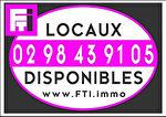 A Louer Local commercial  55,25 m2 Brest Finistère.