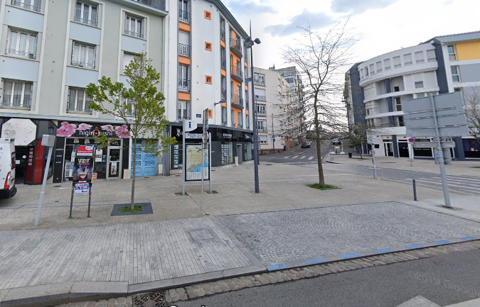 Local commercial 32m2 Brest rive droite