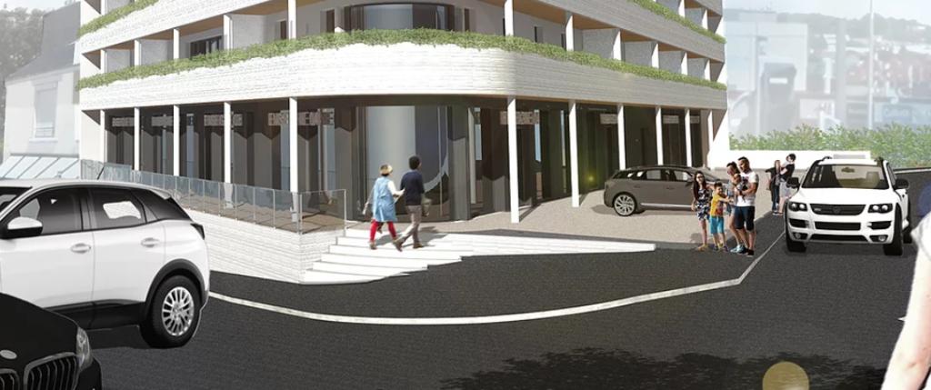 Bureaux  128 m2