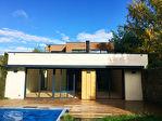 Maison d'architecte, jardin, piscine, garage