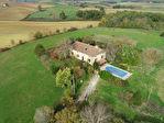 Maison en pierre et grange du 18eme sur 12 hectares avec piscine 2/16