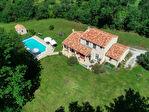 Villa moderne sur deux niveaux à la campagne avec piscine 3/5