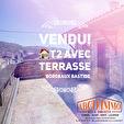 RARE - T2 avec terrasse 30m² Bordeaux Rive Droite 5/5