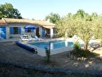 Régusse, charmante villa avec piscine sur 1022 m2 de terrain arboré. 3/17