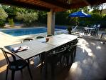Régusse, charmante villa avec piscine sur 1022 m2 de terrain arboré. 6/17