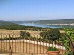 AIGUINES, au pied du lac de st croix superbe villa sur 4200 m2. 5/12