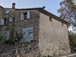 VENDU...SILLANS LA CASCADE, maison de village avec remise. 1/8