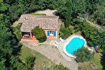 SALERNES, villa de plain pied, 4 pièces 96 m², garage et piscine 1/10