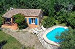 SALERNES, villa de plain pied, 4 pièces 96 m², garage et piscine 4/10