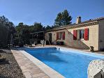 SILLANS LA CASCADE, villa de plain pied, 4 pièces, 100 m², garage et piscine 4/10