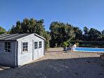 SILLANS LA CASCADE, villa de plain pied, 4 pièces, 100 m², garage et piscine 5/10