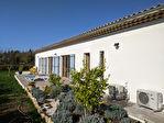VILLECROZE, villa neuve de plain pied 136 m² + garage, vue dégagée, proche village 3/10