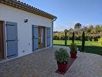VILLECROZE, villa neuve de plain pied 136 m² + garage, vue dégagée, proche village 10/10