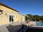 SALERNES maison de plain pied 120 m², garage, piscine, au calme, vue dégagée 1/13