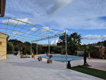SALERNES maison de plain pied 120 m², garage, piscine, au calme, vue dégagée 2/13