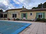 SALERNES maison de plain pied 120 m², garage, piscine, au calme, vue dégagée 4/13