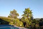 SALERNES maison de plain pied 120 m², garage, piscine, au calme, vue dégagée 10/13