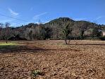 SALERNES, terrain constructible plat 3 773 m², possibilité de division 2/2