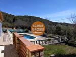 VILLECROZE, maison de plain pied 167 m², proche village, piscine et garage 2/14