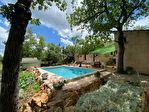 SOUS COMPROMIS - Régusse, Jolie Maison au calme de 104 m² avec piscine. 1/8