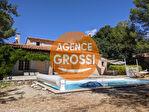 AUPS, charmante villa avec piscine sur 1514 m2 de terrain. 1/14