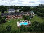 MORBIHAN, near LOCMINE, set of a house, 4 gites and swimming pool 1/18
