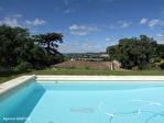 Quercy - Lauzerte - Ravvisante Maison En Pierre Avec 6 Chambres, Piscine, Terrain Avec Belle Vue 1/18
