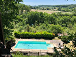 Quercy - Pres Montaigu De Quercy - Maison En Pierre, 1.8 Hectares, Piscine,  Belle Vues 1/18