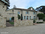 Lot et Garonne - Proche Miramont -Stone house with 6 bedrooms, pool , barn , 3 hectares 5/18