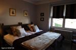 CORREZE.  Ville de Corrèze.  Maison en pierre avec une vue magnifique, 6 chambres (ou 4 et un appartement séparé). Grand garage et atelier. Jardins de 1,256m2 11/18