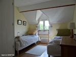 Manche - Le Mesnil Gilbert - Belle maison de 4 chambres et gîte de 3 chambres dans un beau jardin avec vue panoramique 10/18