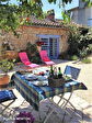 Lot, proche de  Puy l'Évêque,  Une jolie maison de village de 3 chambres, une grange attenante et un Gite séparé de 1 lit. 3/18