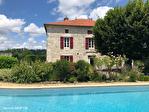 QUERCY - BOURG DE VISA - Manoir en pierre avec 5 chambres, piscine, grange et parc jardins de 1.15 hectares 2/18