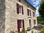 QUERCY - BOURG DE VISA - Manoir en pierre avec 5 chambres, piscine, grange et parc jardins de 1.15 hectares 4/18