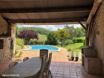 QUERCY - BOURG DE VISA - Manoir en pierre avec 5 chambres, piscine, grange et parc jardins de 1.15 hectares 17/18