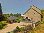 Correze. Treignac.  Superbe maison en pierre avec 4 chambres, garage et jardins de 1140m2. 2/18
