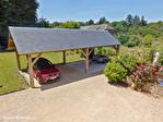 Correze. Treignac.  Superbe maison en pierre avec 4 chambres, garage et jardins de 1140m2. 18/18