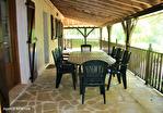 LOT. MONTGESTY.  Maison traditionelle ,avec piscine et jardin arboré=156m2 habitable 14/18