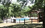 LOT. MONTGESTY.  Maison traditionelle ,avec piscine et jardin arboré 15/18