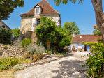 LOT.  Cavagnac.  Magnifique maison en pierre avec 3 chambres, 3 gites spacieux en pierre, grange et piscine. 2/18