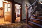 Correze. Segur-le-Château. Maison en pierre datant de 1911 sur le bord de la rivière Auvezere. 12/18