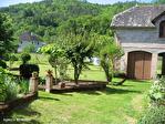 Correze. Saint-Chamant. Magnifique grande maison en pierre avec dépendance et jardin de 742m2 (plus disponible). 3/18