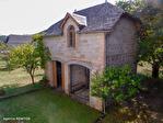 Correze. Saint-Chamant. Magnifique grande maison en pierre avec dépendance et jardin de 742m2 (plus disponible). 4/18