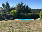 TARN ET GARONNE.  MONTAIGU DE QUERCY .  Maison plan pied avec 2 chambres, jardin et piscine 6/18